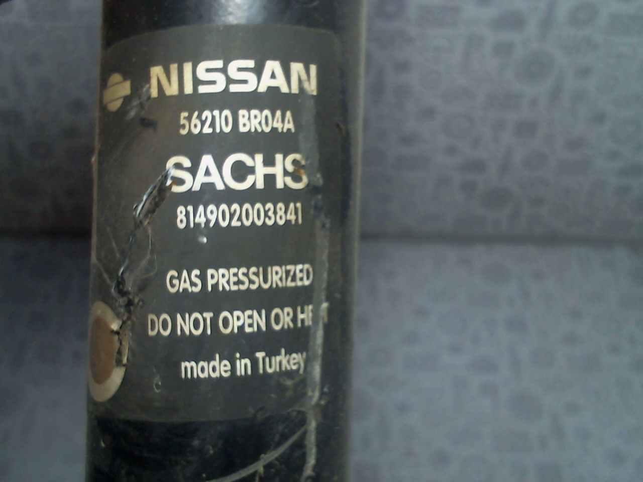 209710 - Амортизатор подвески задний левый Nissan Qashqai
