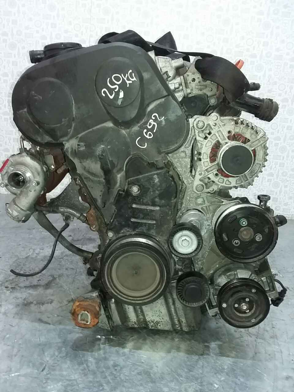 Двигатель (ДВС) Audi A4 B7 2005 Универсал Механика 2.0TDi 16v 136лс
