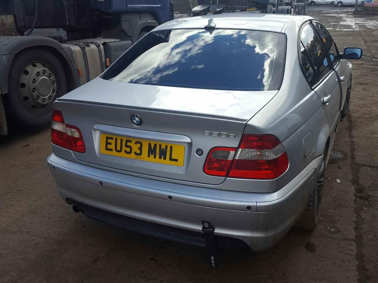 Двигатель (ДВС) BMW 3 Series (E46) 2003 Седан Автомат 3.0D 24v 184лс