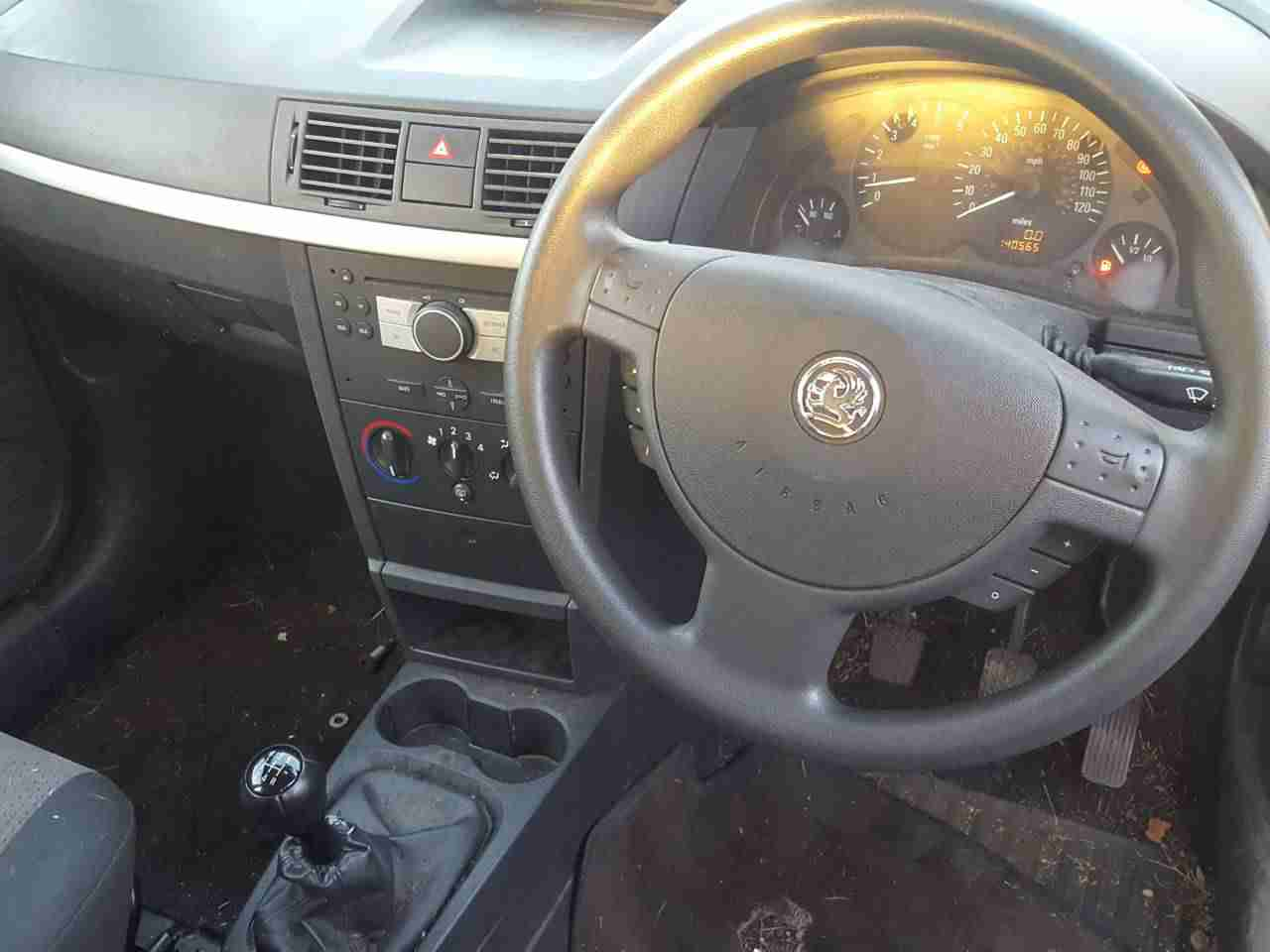 Двигатель (ДВС) Opel Meriva A 2005 Хетчбэк 5дв. Механика 1.7CDTi 16v 100лс