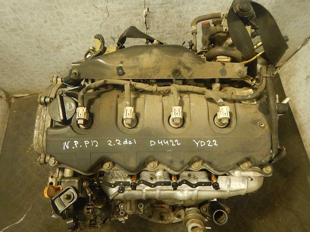 Двигатель (ДВС) Nissan Primera P12 2005 Хетчбэк 5дв. Механика 2.2DCi 16v 139лс