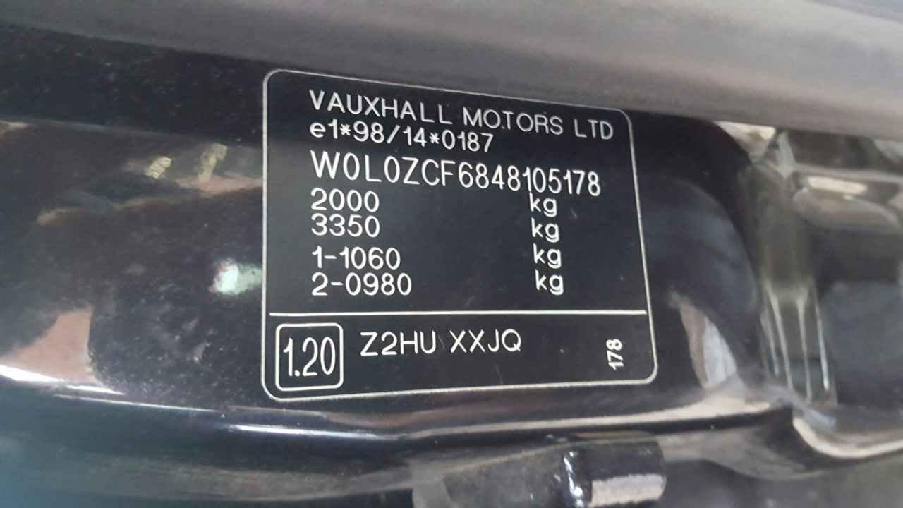 Двигатель (ДВС) Opel Vectra C 2004 Хетчбэк 5дв. Механика 2.0DTi 16v 101лс