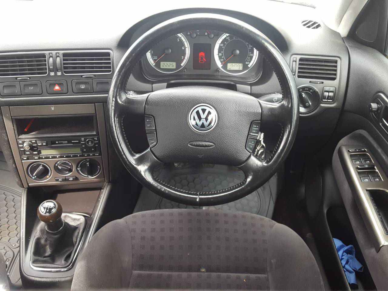 Двигатель (ДВС) Volkswagen Bora 2002 Механика 1.6i 16v 105лс