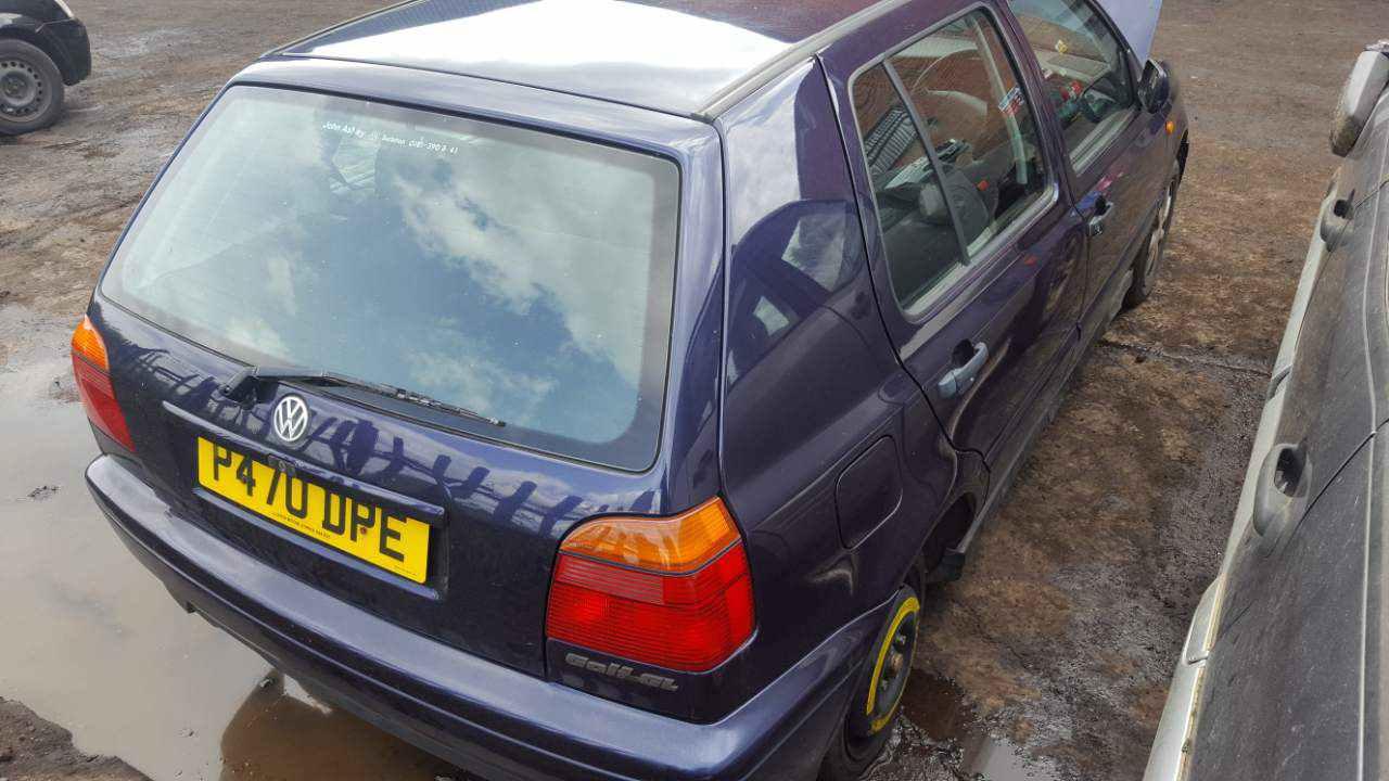 Двигатель (ДВС) Volkswagen Golf 3 1996 Хетчбэк 5дв. Автомат 1.6i 8v 101лс