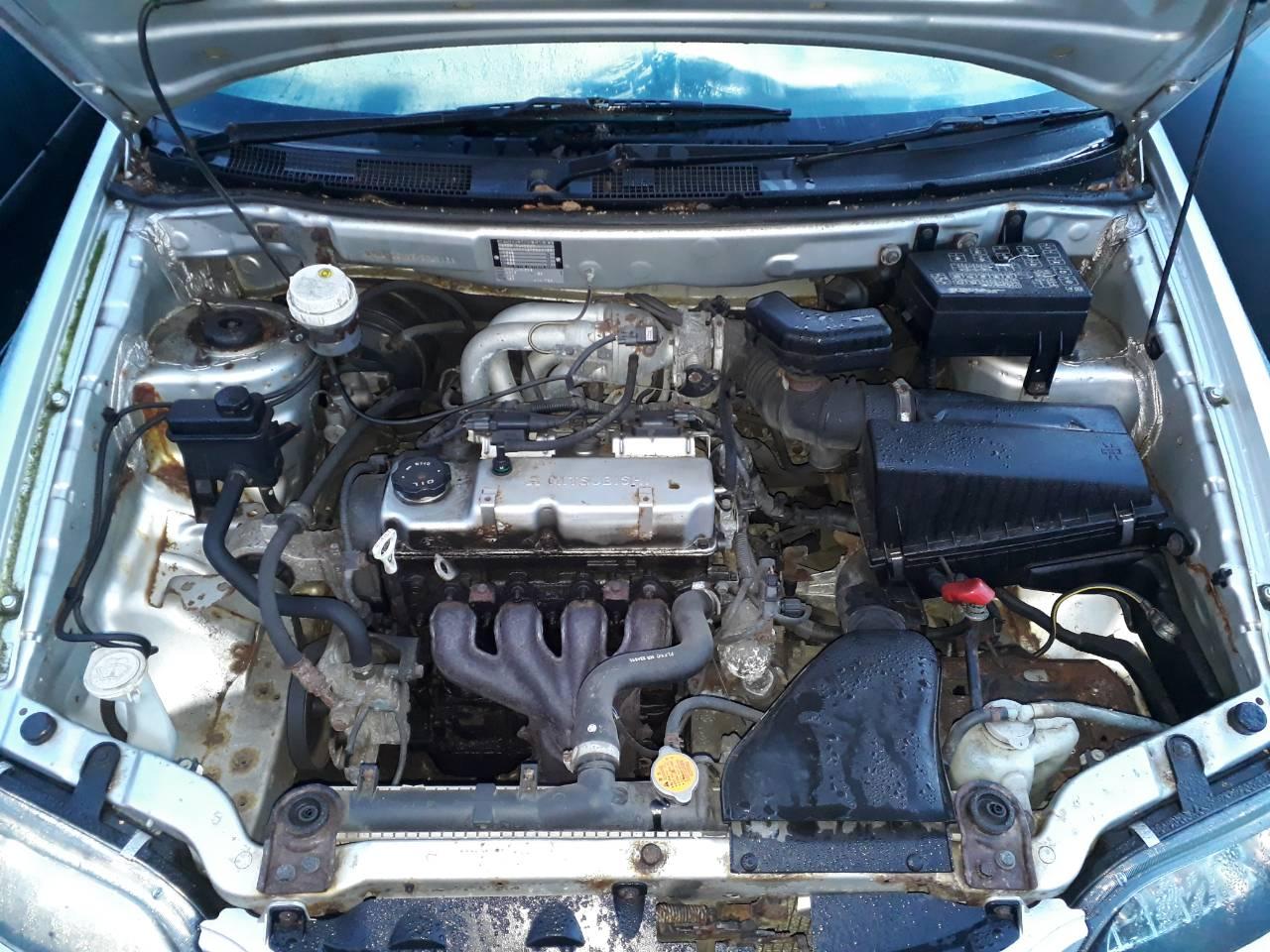 Двигатель (ДВС) Mitsubishi Space Star 2002 Хетчбэк 5дв. Механика 1.3i 16v 82лс